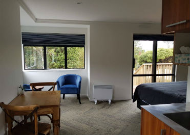 Accommodation at Pukeiti